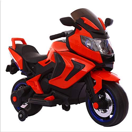 TH Kids Electric Ride En Toy Car Kids Motocicleta Triciclo De Coche Eléctrico, 12V, 2 X Motor, Suspensión En Dos...