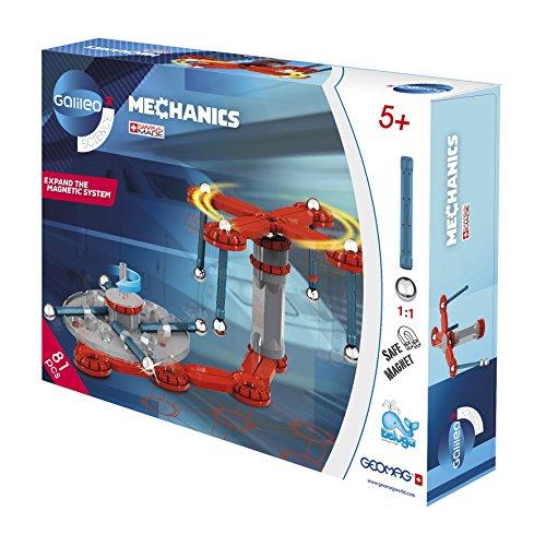 Beluga Spielwaren 62021 Galileo Geomag Mechanics 78, Konstruktionsspielzeug