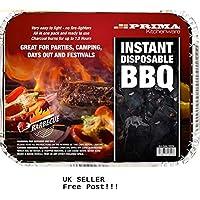 Prima Instant Light Disposable Barbecue BBQ