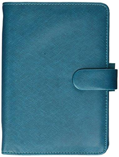 Filofax 2019Persönlichen Saffiano Organizer, Aquamarin, Papier Größe 17,1x 9,5cm (c022530–19) (Aquamarin Papier)