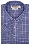 #8: Arihant Men's Checkered Half Sleeves Reguler Fit Cotton Linen Formal Shirts