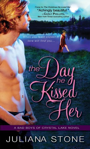 The Day He Kissed Her (Bad Boys of Crystal Lake Book 3) (English Edition)