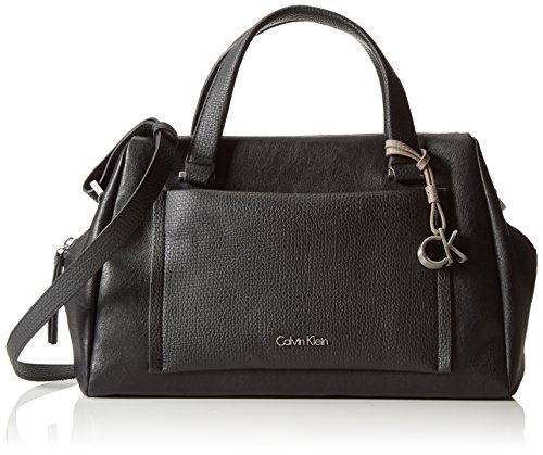 Calvin Klein Jeans  LANA DUFFLE, Sacs portés main femme Noir - Schwarz (BLACK 001 001)