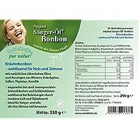 Dr. Weihofen Sänger-Öl Bonbon 250 g pur natur preisvergleich bei billige-tabletten.eu
