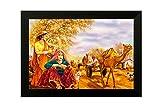 #2: SAF Rajasthani Large Figurative Painting (35 x 3 x 50 cms, Large Painting)