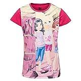 Lego Wear Mädchen T-Shirt Lego Friends M, Rosa (Pink 437), 128