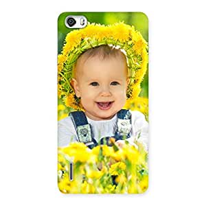 Delighted Laughing Baby Girl Back Case Cover for Honor 6