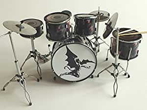 RGM361 Bill Ward Black Sabbath Kits de batterie miniatures Rock Guitar Miniatures
