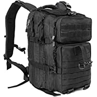 ICCKER Tactical Backpack Military, 40Liter Army Assault Molle Rucksack Camping Hiking Trekking Hunting Bug Out Bag