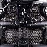 SIZHINIAN Misura tappetini Auto per Audi A3 Sportback A5 Sportback TT mk1 A1 A2 A3 A4 A5 A6 A7 A8 Q3 Q5 Q7 S4 S5 S8 tappetini RS Automobile, Nero Linea Beige, Nero-Beige-Line