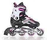 Raven Inline Skates Inliner Pulse Black/Pink Größe: 40-43 (25,5cm-28cm)