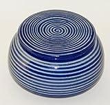 Unbekannt original französische wassergekühlte keramik butterdose, nie mehr harte butter zum frühstück, c3-spiral-B-G