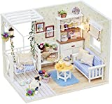 #6: Doll House - Cute Creative Room Miniature DIY House Kit With Furniture and Accessories - Perfect Creative DIY Gift for Kids, Children, Teens, Friends, Families, Birthday/Valentine's Day (Cat Diary Series) By Shuban