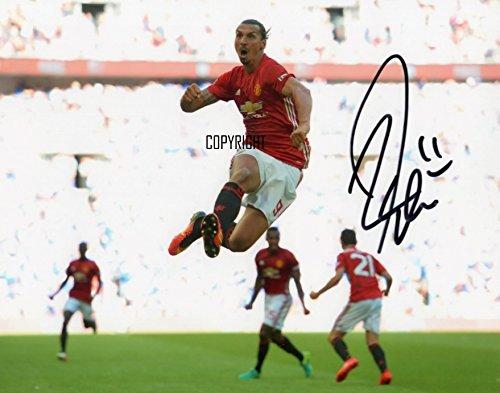 Zlatan Ibrahimovic de edición limitada firmada foto + Cert impreso