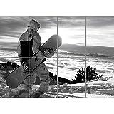 SNOWBOARD HEAVEN SKIING GIANT PANEL POSTER PLAKAT DRUCK ART PRINT PICTURE PR205