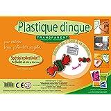 PW International - Plastique dingue transparent, sachet de 30 feuilles de 260 x 200 mm, 3 ans et plus