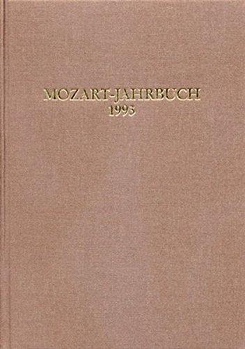 Mozart-Jahrbuch: 1993