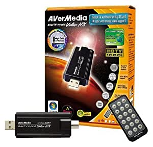 AVerMedia AVerTV Hybrid Volar HX/-A827 (USB, Analog TV, DVB-T, Vista, MCE, HDTV, H.264)