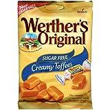 Werthers Original Sugar Free Chewy Toffees - 80g