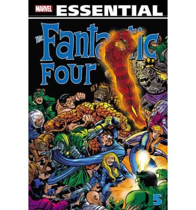 [(Essential Fantastic Four: v. 5 )] [Author: Stan Lee] [May-2012]