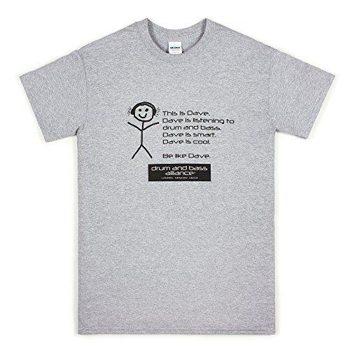 Strand Clothing Herren T-Shirt grau grau Gr. XXL, grau - Hospital Records-t-shirt
