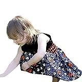Baby Kinder Mädchen Ärmellos Karikatur Kleid Prinzessin Kostüm Kinder Glanz Kleid Halloween Verkleidung Karneval Party von Innerternet