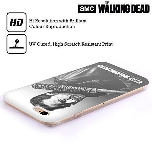 Offizielle AMC The Walking Dead Negan Gefilterte Porträts Soft Gel Hülle für Apple iPhone 5 / 5s / SE Negan