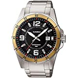 CASIO ENTICER Watch MTP-1291D-1A3 for Men (Analog, Casual Watch)