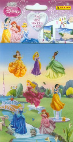 Panini - Stickers « Crée Ta Mini Scene » Princess