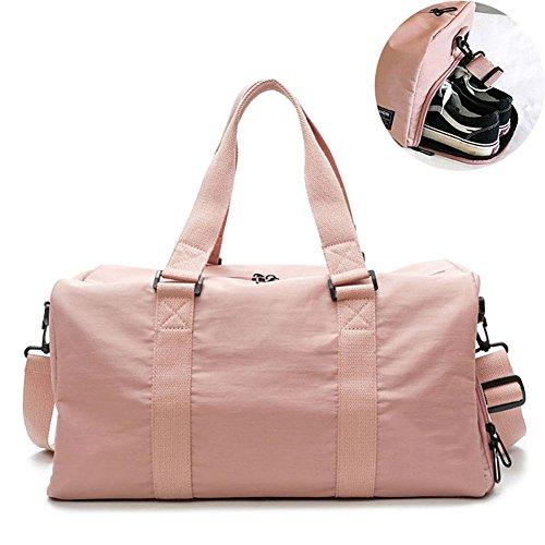 (Duffle Bag Für Frauen & Männer Große Sport Sporttasche Mit Schuhe Tasche Outdoor Fitness Training Reise Yoga Handtasche)