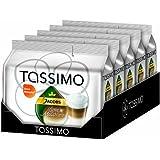 Tassimo Jacobs Latte Macchiato, Pack of 5, 5 x 16 T-Discs (40 Servings)