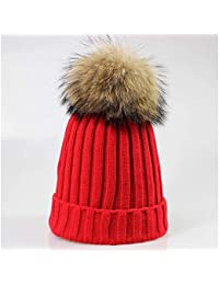 Amazon.es  gorros de lana con pompon de pelo - 20 - 50 EUR ... c3958371b5d