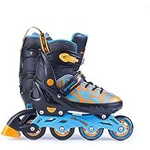 SPOKEY Inlineskates für Kinder Inline Skates Jugendliche größenverstellbar