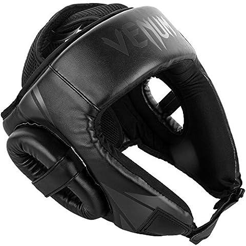 Venum Challenger 2.0 Casque de Boxe Mixte Adulte, Noir/Noir