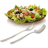 Villeroy & Boch / 18/10 Acero inoxidable / cuchara de alta calidad y tenedor / Serving Set / Diseño atemporal / acabado en espejo