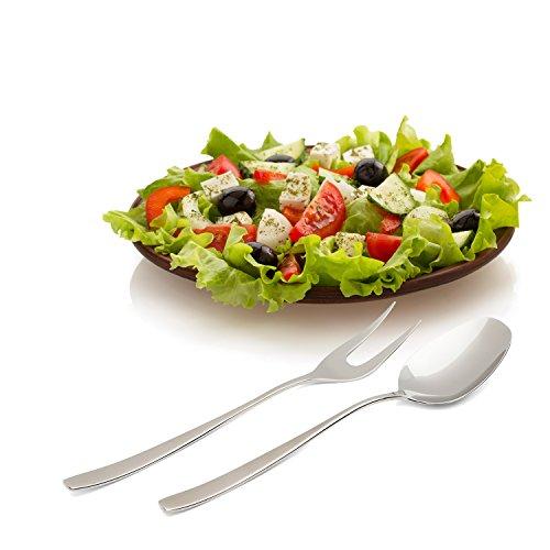 Villeroy und Boch Couverts à Salade / 18/10 en acier inoxydable / cuillère et fouche de haute qualité / Set de service / Design intemporel / Finition miroir