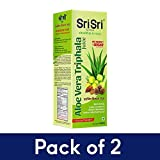 Sri Sri Tattva Aloe Vera Triphala Juice, 500ml (pack of 2)
