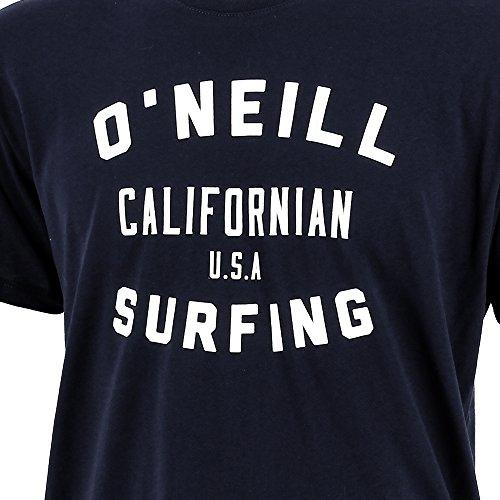 O'Neill Herren T-Shirt Lm Signage T-Shirt Blau - Blue (Navy Night)