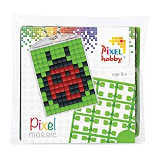 Pracht Creatives Hobby P23015 - Juego de medallón y Llavero para niños, niños y niñas, Ideal como pequeño Regalo, Regalo para cumpleaños Infantiles