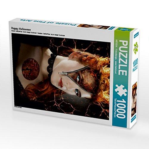 Happy Halloween 1000 Teile Puzzle hoch Preisvergleich