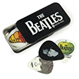 Planet Waves 1CAB4-15BT1 Beatles Signature Celluloid Pick Box Motiv Logo mit 15 Picks in Medium
