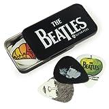 Planet Waves Boîte de médiators signature Beatles par Planet Waves, logo, 15 médiators