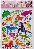 3D Dinosaur Animal sticker decal 1 sheet Dimensions: 25 cm x 20 cm