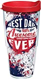 Best Dad Tumblers - Tervis 1176126 Dad Splatter Tumbler with Wrap Review