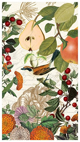 VE 15 Stück 3-lagig Papier Hostess Servietten, Golden Pear (Thanksgiving-papier, Geschirr)