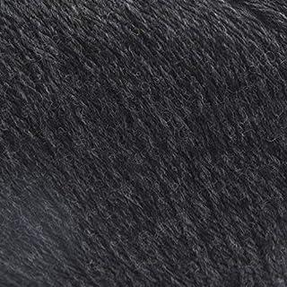 ggh Mussante - 002 - Anthrazit meliert - Schurwolle Mischung, 50g Knäuel, ca. 150m Lauflänge, Nadelstärke 3,5-4,5, Stricken