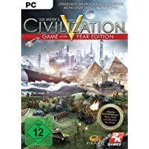 Sid Meier's Civilization V - Game of the Year Edition [PC Steam Code]