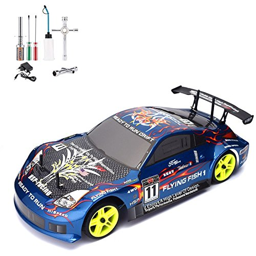 HSP RC Auto 4WD 1:10 Nitro Gas Power OffRoad