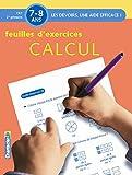 Telecharger Livres Feuilles d exercices Calcul 7 8 ans CE1 2e primaire (PDF,EPUB,MOBI) gratuits en Francaise