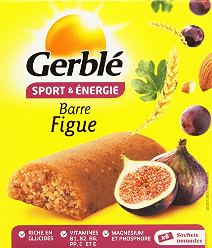 Gerble 6 Barres aux Figues de 25 g - Lot de 4